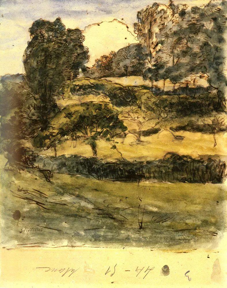 No.44 米勒   19世纪法国最伟大的田园画家插图171