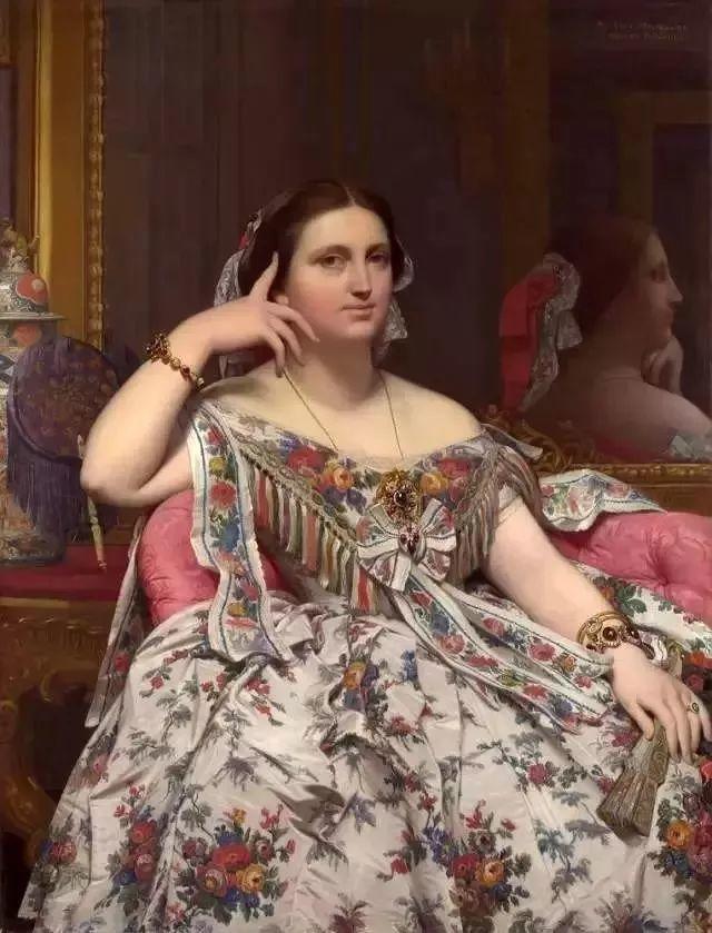 精选60幅不同风格的油画美女插图6