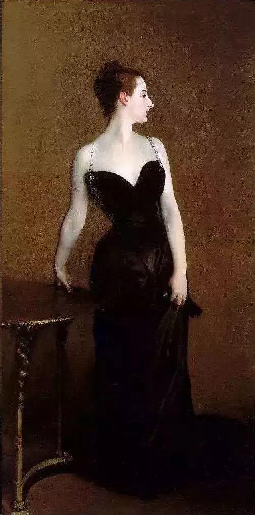 精选60幅不同风格的油画美女插图39