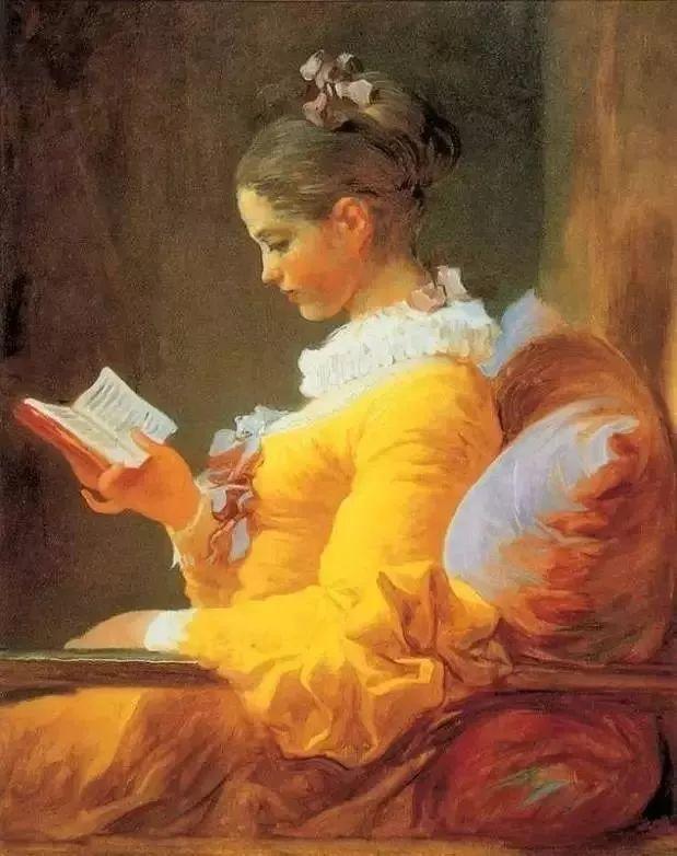 精选60幅不同风格的油画美女插图43