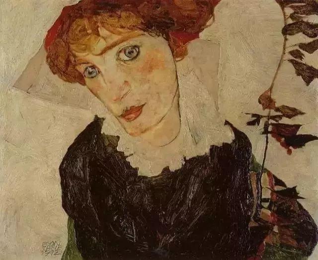 精选60幅不同风格的油画美女插图50