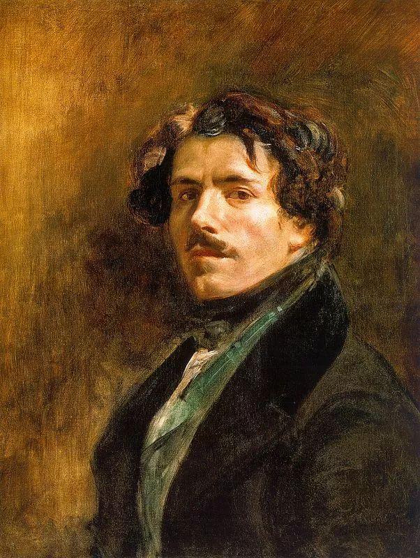 No.43 德拉克洛瓦 | 19世纪法国浪漫主义画派代表插图