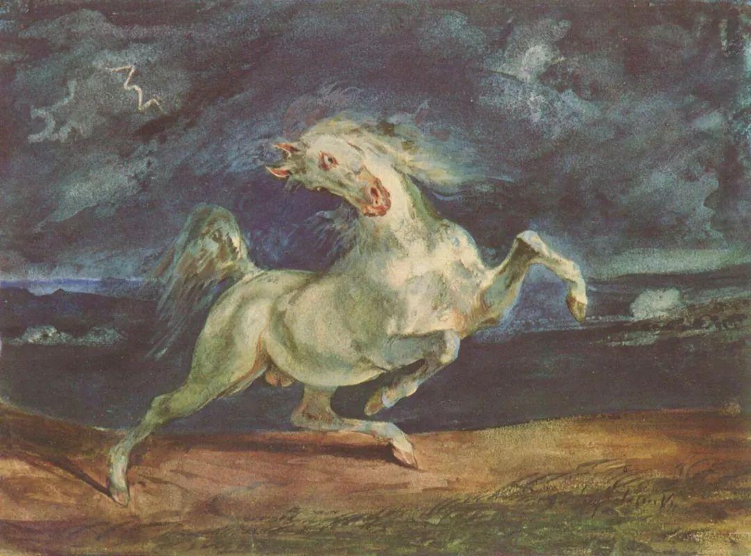 No.43 德拉克洛瓦 | 19世纪法国浪漫主义画派代表插图4