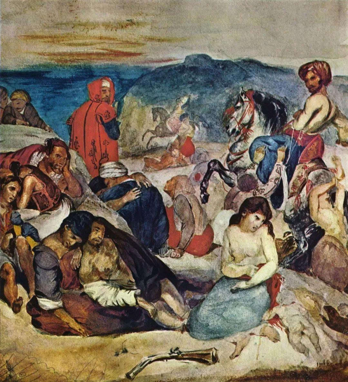 No.43 德拉克洛瓦 | 19世纪法国浪漫主义画派代表插图10