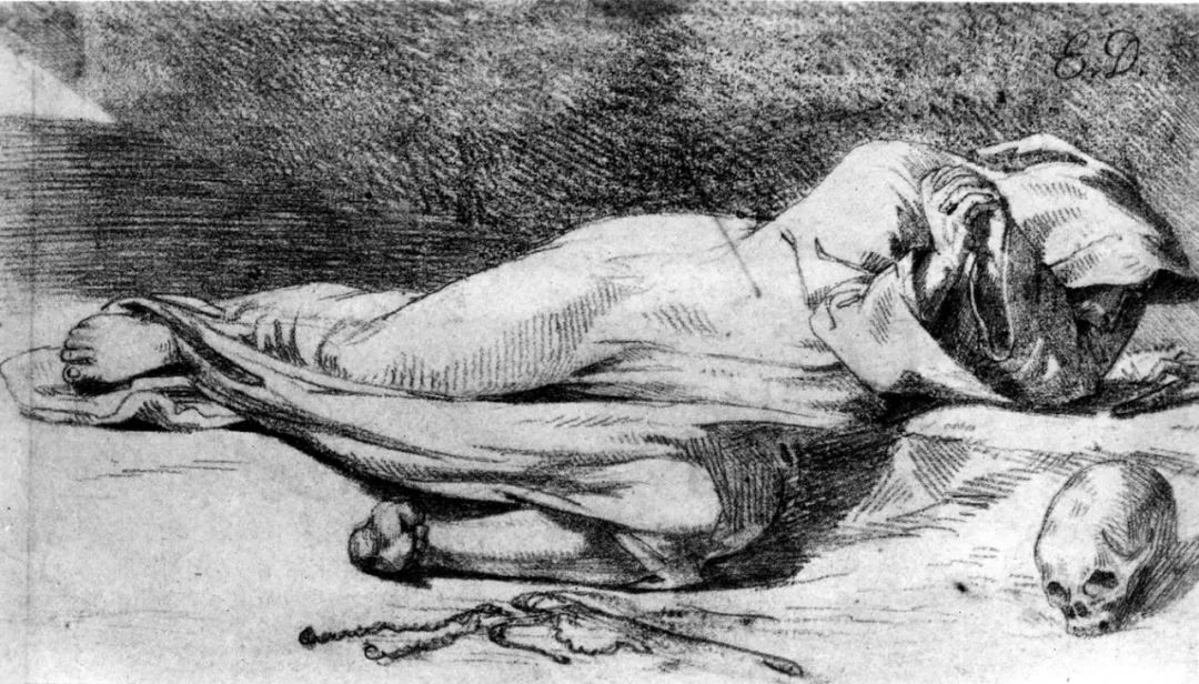 No.43 德拉克洛瓦 | 19世纪法国浪漫主义画派代表插图12