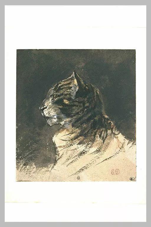 No.43 德拉克洛瓦 | 19世纪法国浪漫主义画派代表插图20