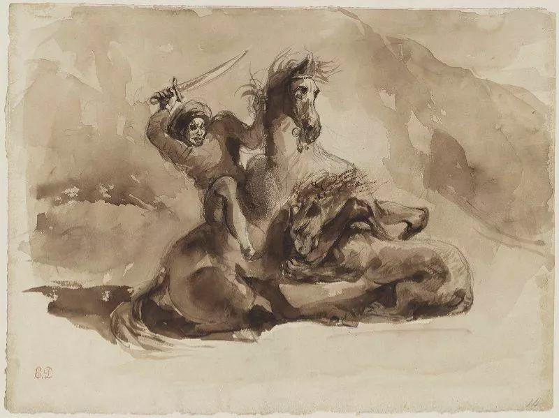 No.43 德拉克洛瓦 | 19世纪法国浪漫主义画派代表插图24