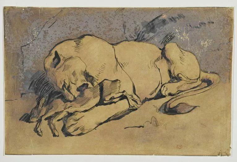 No.43 德拉克洛瓦 | 19世纪法国浪漫主义画派代表插图34