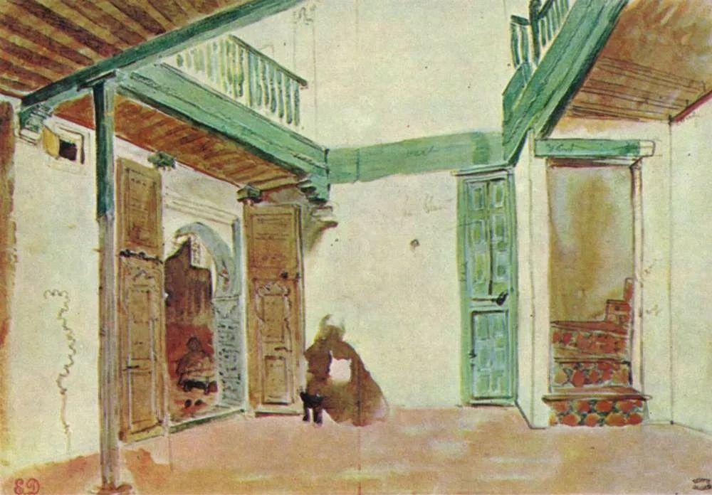 No.43 德拉克洛瓦 | 19世纪法国浪漫主义画派代表插图36