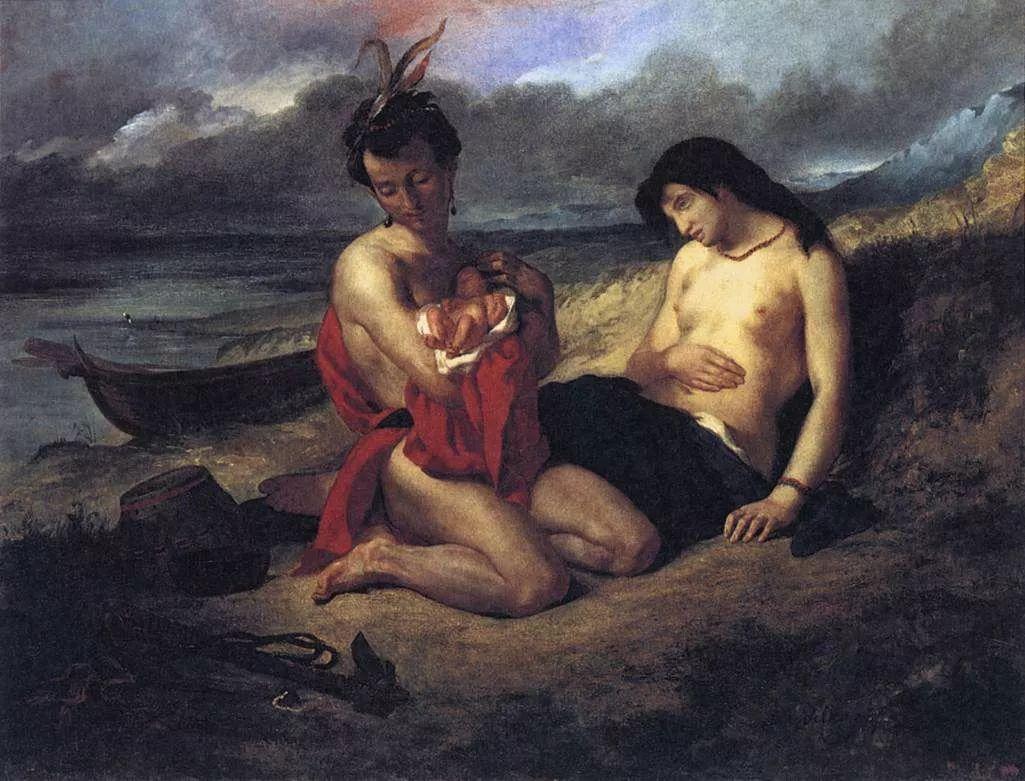 No.43 德拉克洛瓦 | 19世纪法国浪漫主义画派代表插图39