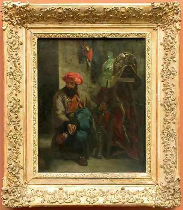 No.43 德拉克洛瓦 | 19世纪法国浪漫主义画派代表插图43
