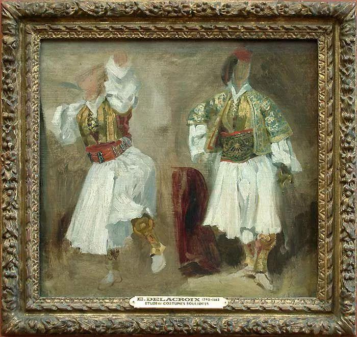 No.43 德拉克洛瓦 | 19世纪法国浪漫主义画派代表插图47
