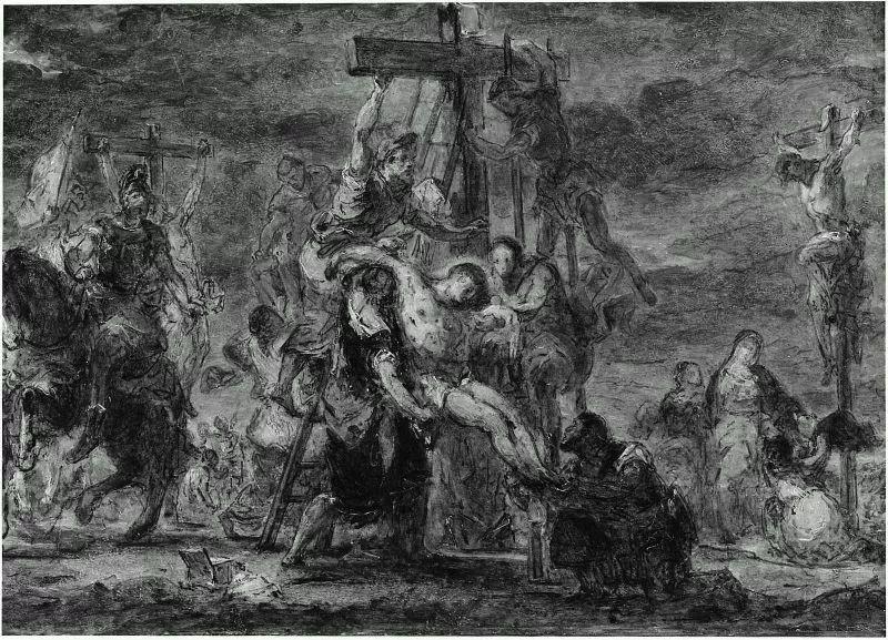 No.43 德拉克洛瓦 | 19世纪法国浪漫主义画派代表插图48