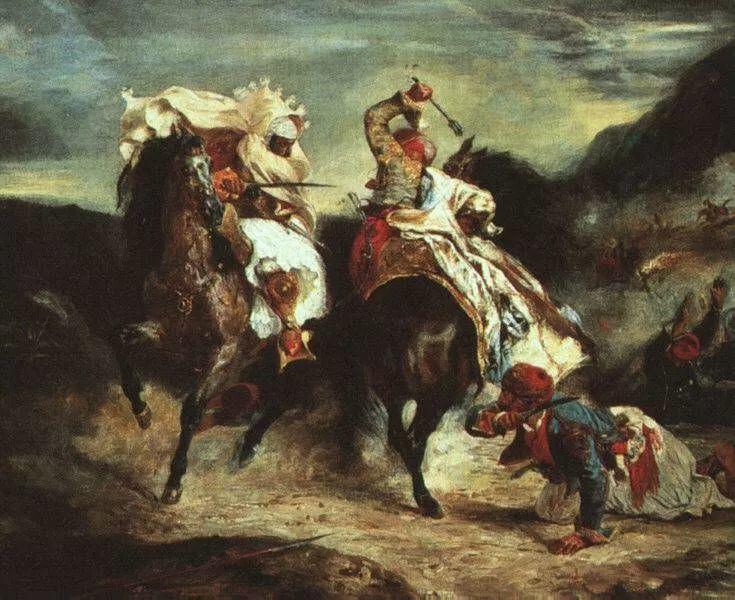No.43 德拉克洛瓦 | 19世纪法国浪漫主义画派代表插图53