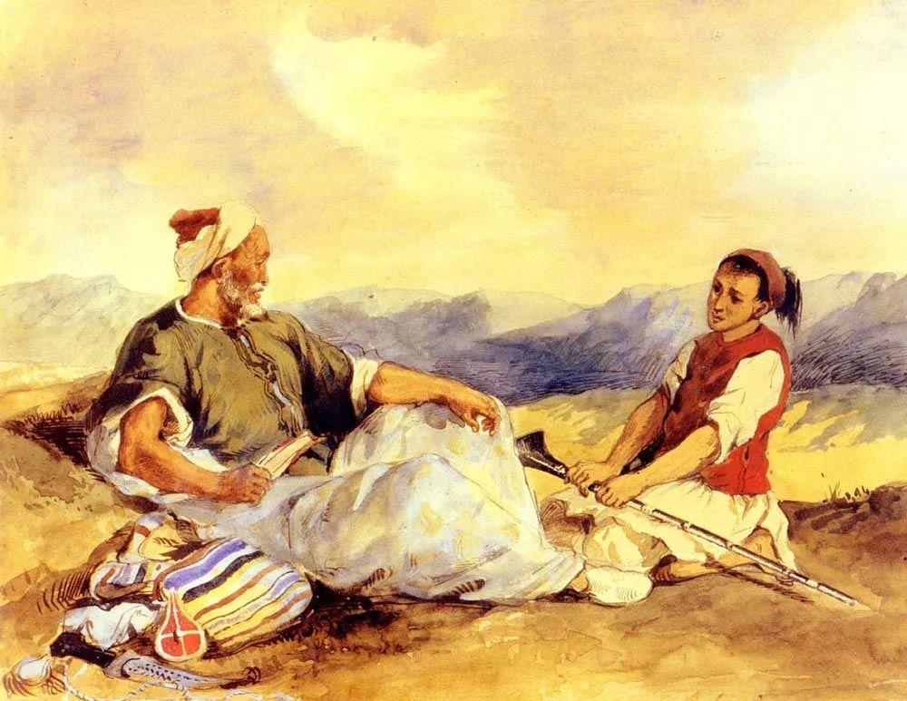 No.43 德拉克洛瓦 | 19世纪法国浪漫主义画派代表插图56