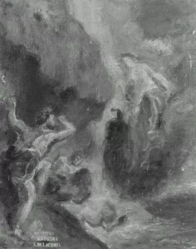 No.43 德拉克洛瓦 | 19世纪法国浪漫主义画派代表插图58