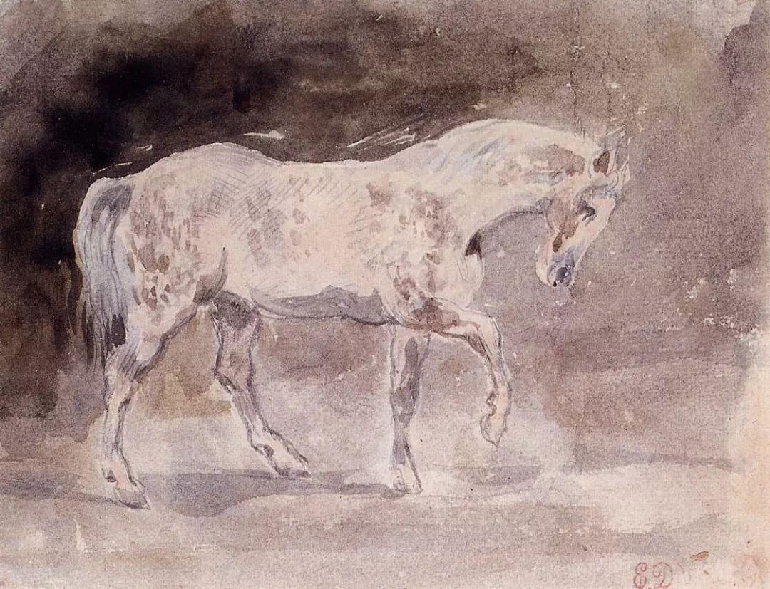 No.43 德拉克洛瓦 | 19世纪法国浪漫主义画派代表插图60