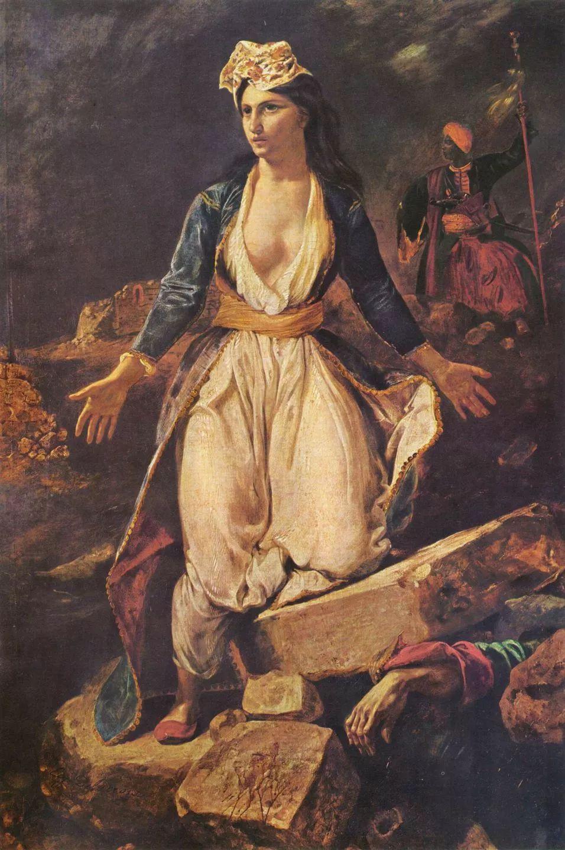 No.43 德拉克洛瓦 | 19世纪法国浪漫主义画派代表插图62