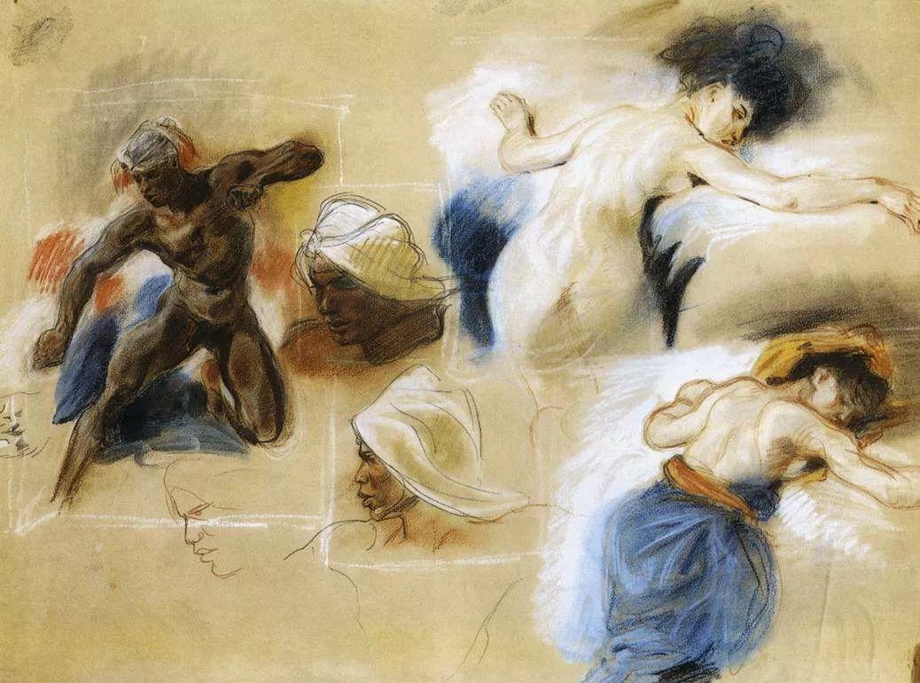 No.43 德拉克洛瓦 | 19世纪法国浪漫主义画派代表插图67