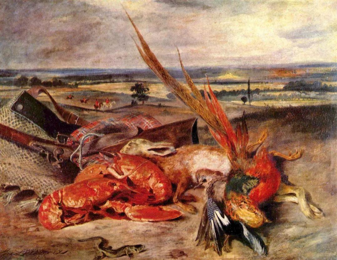 No.43 德拉克洛瓦 | 19世纪法国浪漫主义画派代表插图68