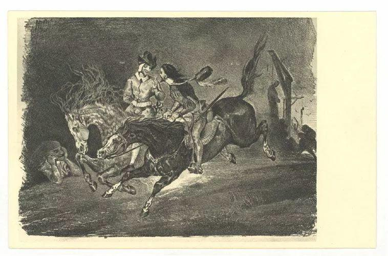No.43 德拉克洛瓦 | 19世纪法国浪漫主义画派代表插图69