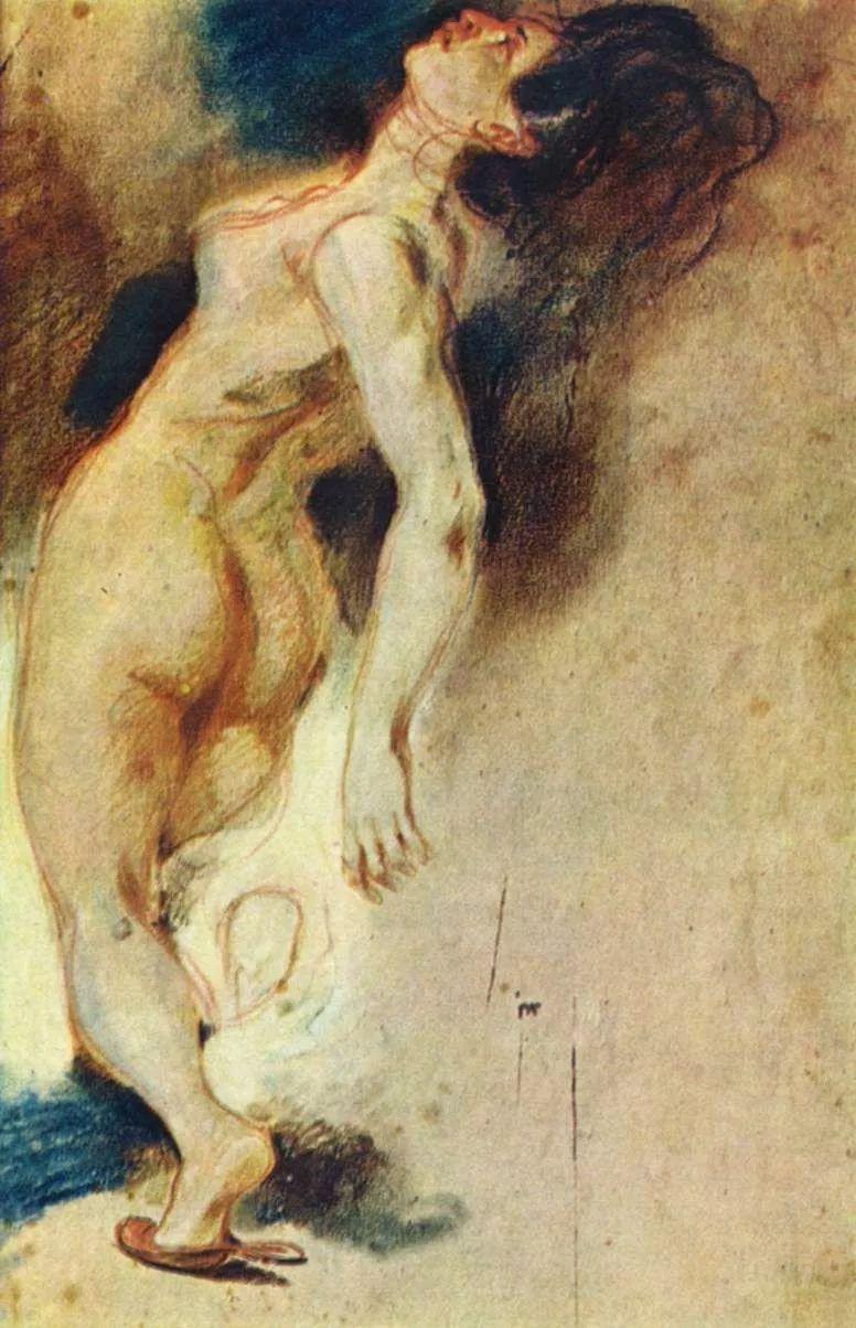 No.43 德拉克洛瓦 | 19世纪法国浪漫主义画派代表插图70