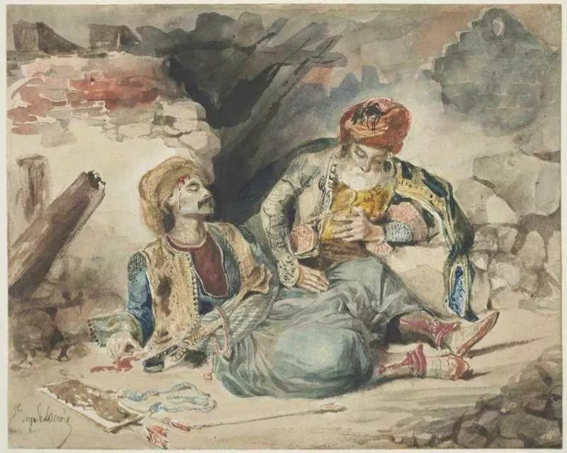 No.43 德拉克洛瓦 | 19世纪法国浪漫主义画派代表插图80