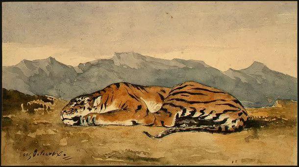 No.43 德拉克洛瓦 | 19世纪法国浪漫主义画派代表插图81