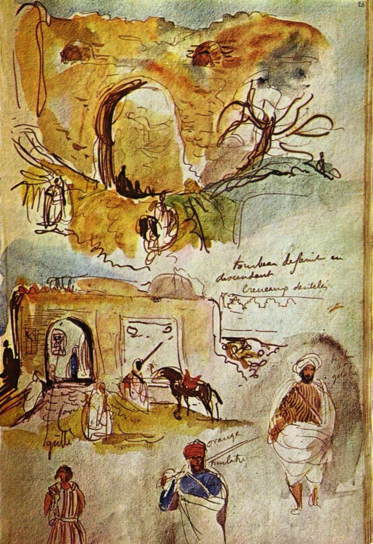 No.43 德拉克洛瓦 | 19世纪法国浪漫主义画派代表插图84