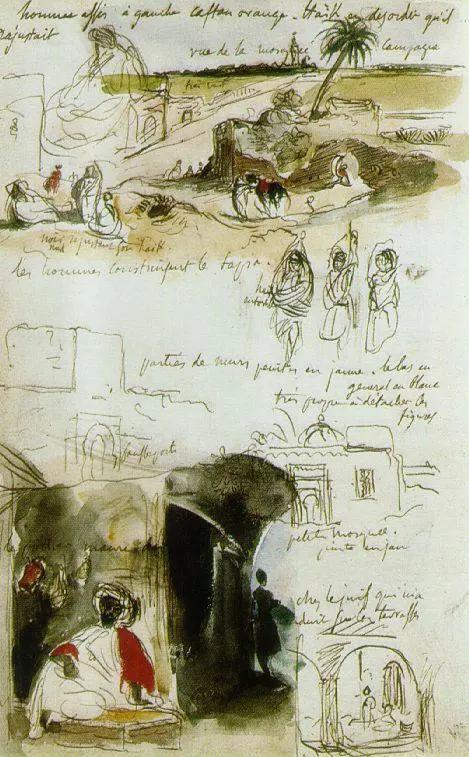 No.43 德拉克洛瓦 | 19世纪法国浪漫主义画派代表插图86