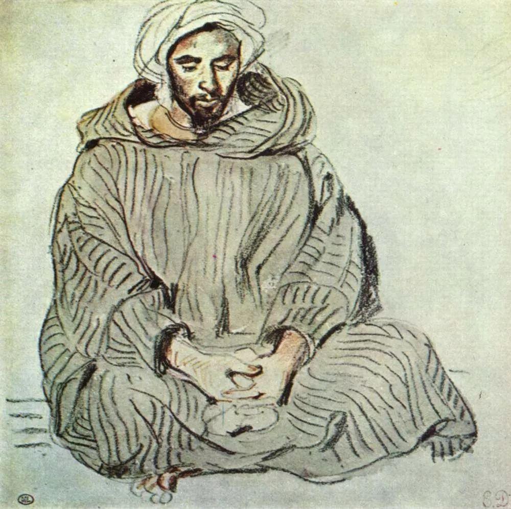 No.43 德拉克洛瓦 | 19世纪法国浪漫主义画派代表插图87
