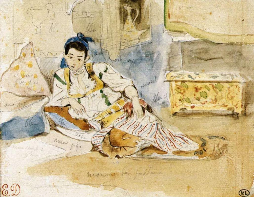No.43 德拉克洛瓦 | 19世纪法国浪漫主义画派代表插图89