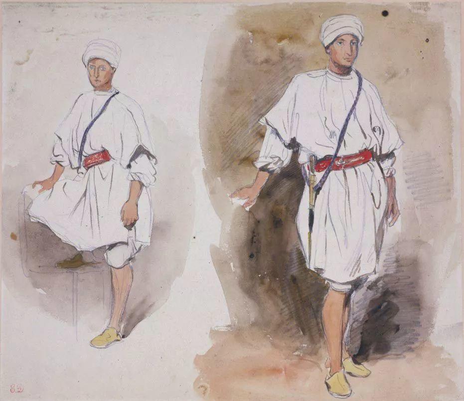 No.43 德拉克洛瓦 | 19世纪法国浪漫主义画派代表插图90