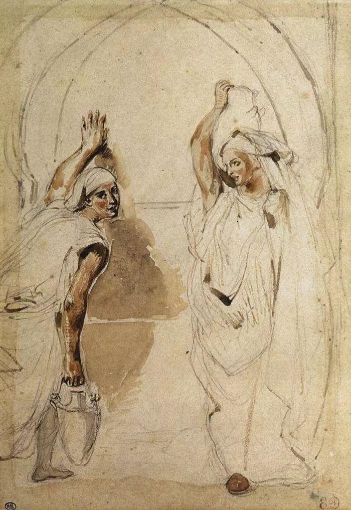 No.43 德拉克洛瓦 | 19世纪法国浪漫主义画派代表插图91