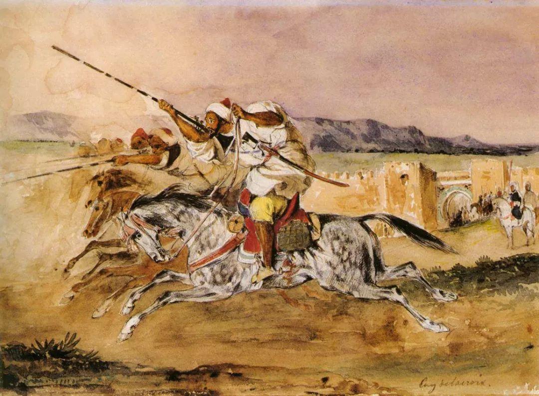 No.43 德拉克洛瓦 | 19世纪法国浪漫主义画派代表插图92