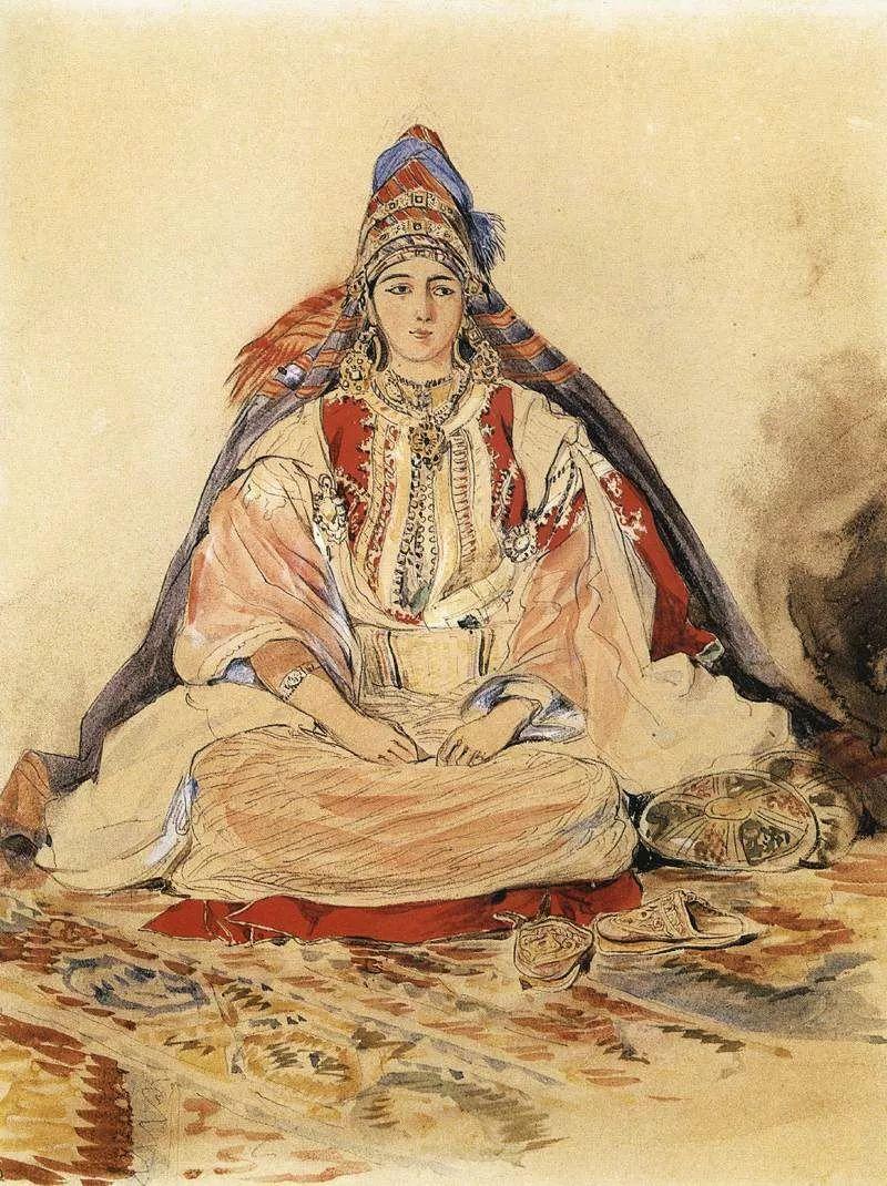 No.43 德拉克洛瓦 | 19世纪法国浪漫主义画派代表插图93