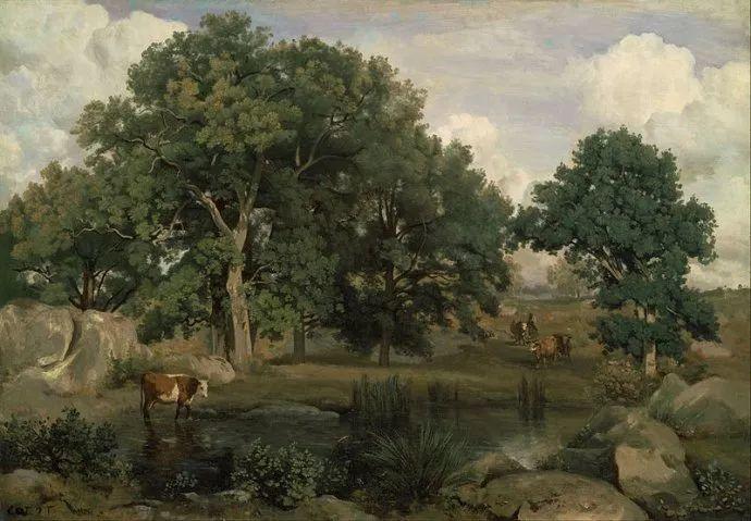No.42 柯罗 | 法国19世纪最杰出的风景画家插图89