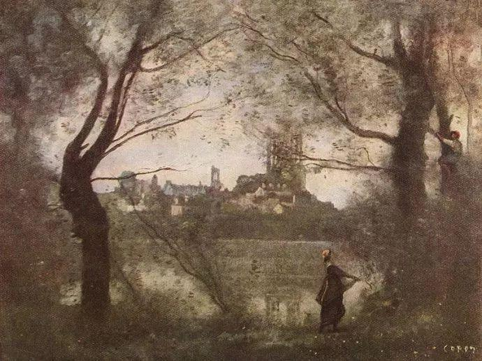 No.42 柯罗 | 法国19世纪最杰出的风景画家插图103