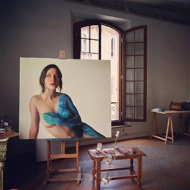 超现实的写实油画——意大利Marco Grassi插图