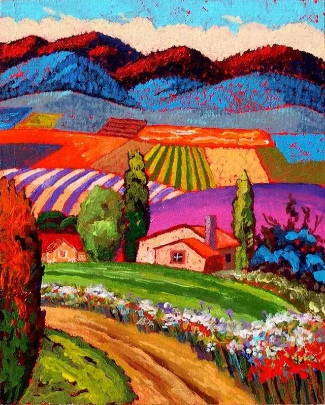 色彩绚丽的风光画作——Gene Brown插图5