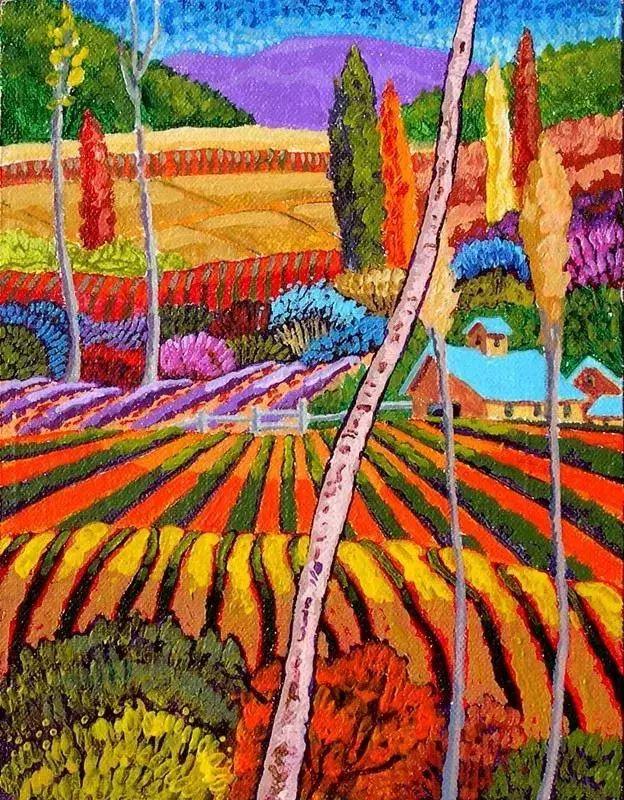 色彩绚丽的风光画作——Gene Brown插图7