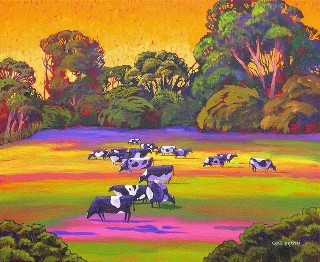 色彩绚丽的风光画作——Gene Brown插图11