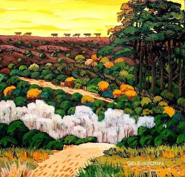 色彩绚丽的风光画作——Gene Brown插图13
