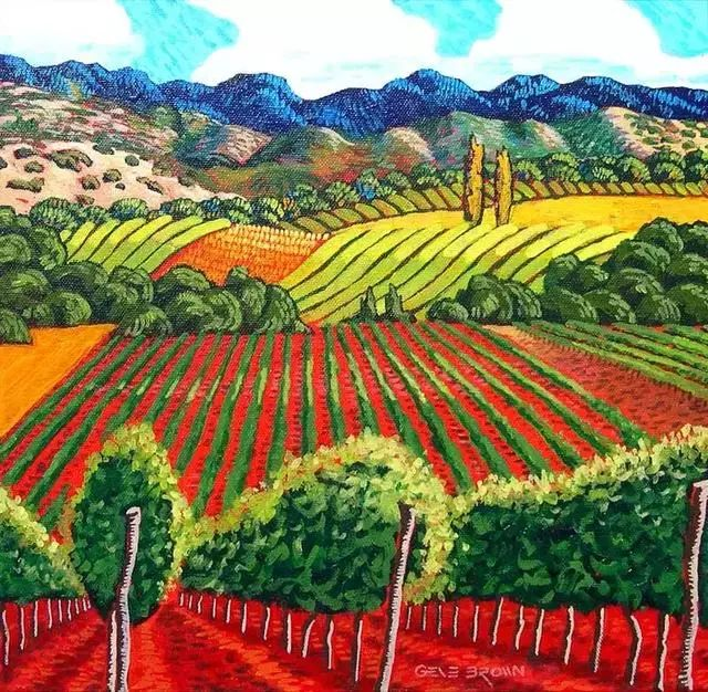 色彩绚丽的风光画作——Gene Brown插图15
