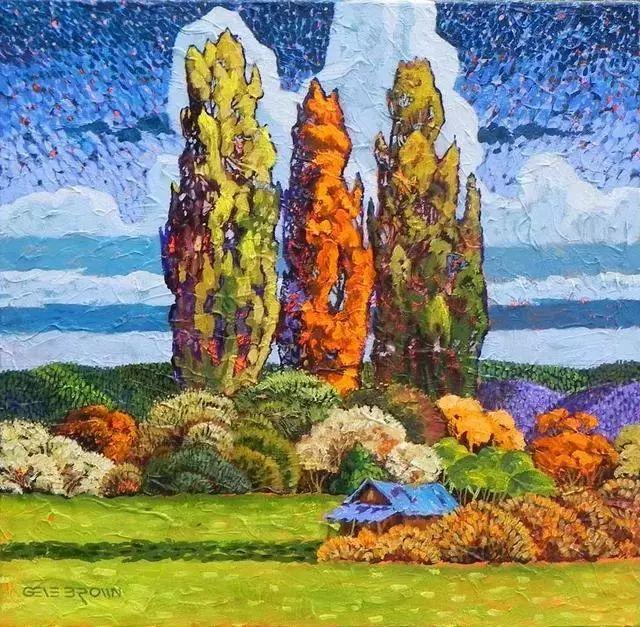 色彩绚丽的风光画作——Gene Brown插图17