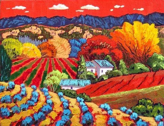 色彩绚丽的风光画作——Gene Brown插图25