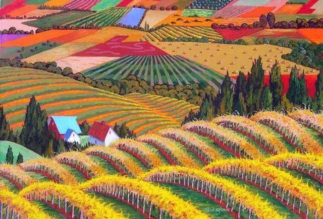 色彩绚丽的风光画作——Gene Brown插图29