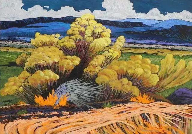 色彩绚丽的风光画作——Gene Brown插图37