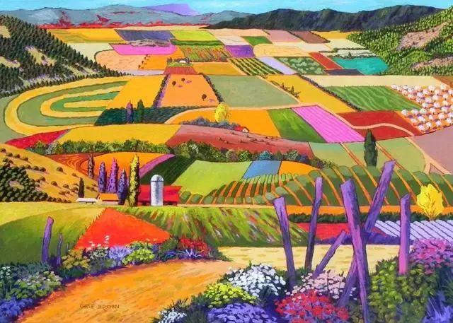 色彩绚丽的风光画作——Gene Brown插图39