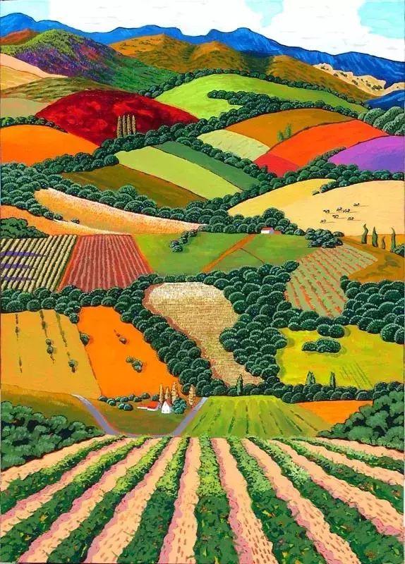 色彩绚丽的风光画作——Gene Brown插图47
